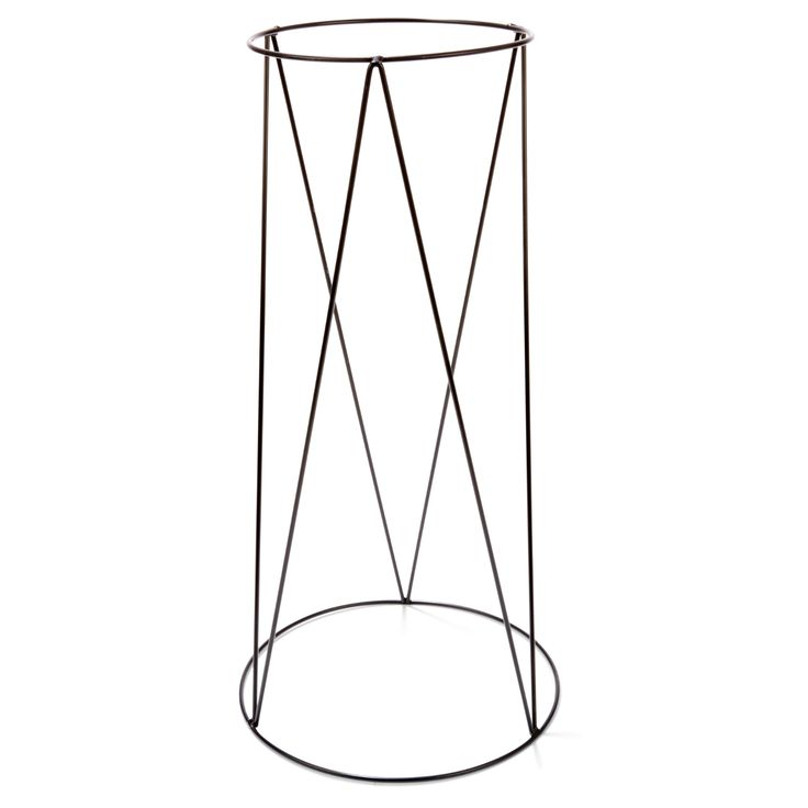 metal Pot Stand 60cm Bk home & Co