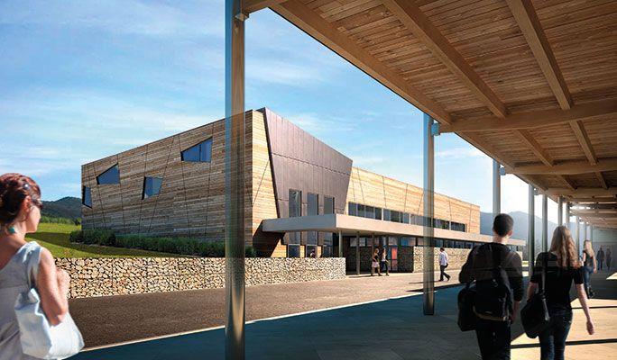 Chabal Architectes - Realisation - GYMNASE-VILLARD-DE-LANS