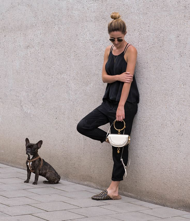 All black | Happy Sunday | Lindarella - Fashion- und Fitness Blog aus München