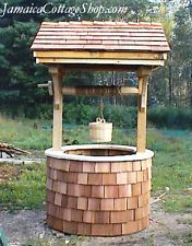 Whimsical Wishing Well DIY PLANS, Garden Accent, Functional or Flower Planter