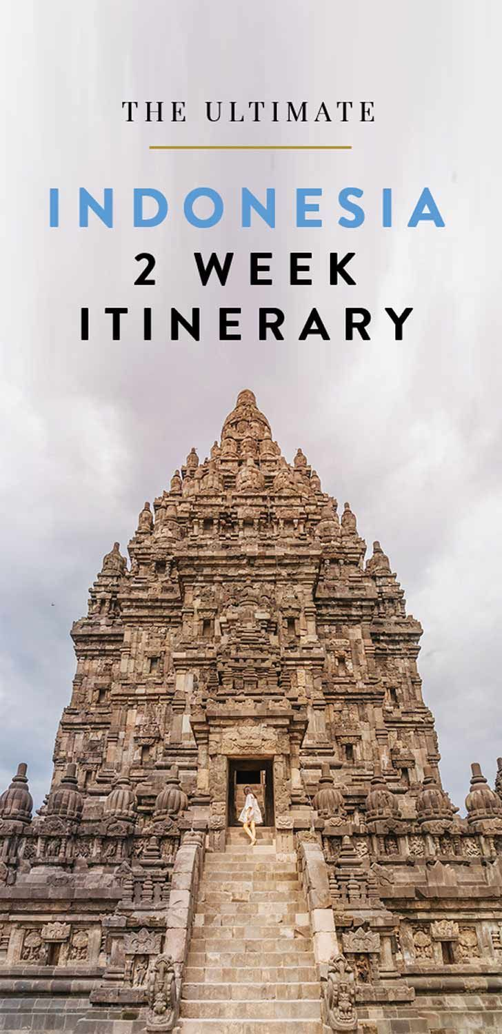 All the best things to do, see and eat in Indonesia with this travel guide. Click through for a day by day itinerary - perfect if you have two weeks for Indonesia.