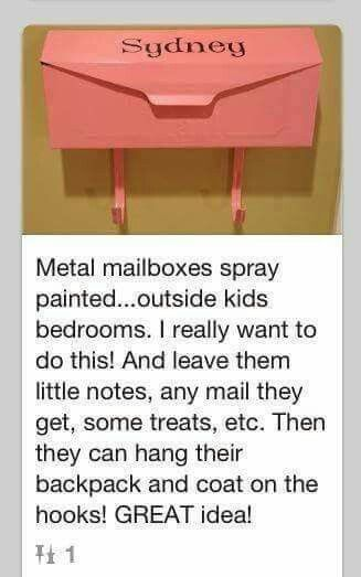 Absolutely great idea for organizing your children's stuff and making it a some what easy day!