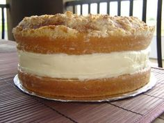 Olive Garden Lemon Cream Cake - also known as my mother in laws fav. birthday cake!!