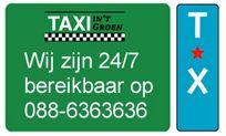 24/7 bereik en inzetbaar. www.taxigroen.nl