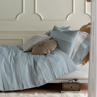 Blissliving Home 3 Piece Belgravia Duvet Set In Iced Blue