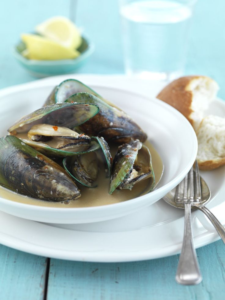 Mussels with Ginger, Chilli & Coconut Cream