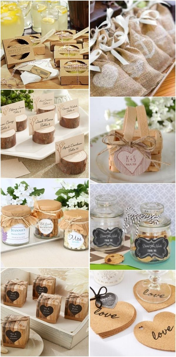 Rustic country wedding ideas - rustic wedding favors #ad