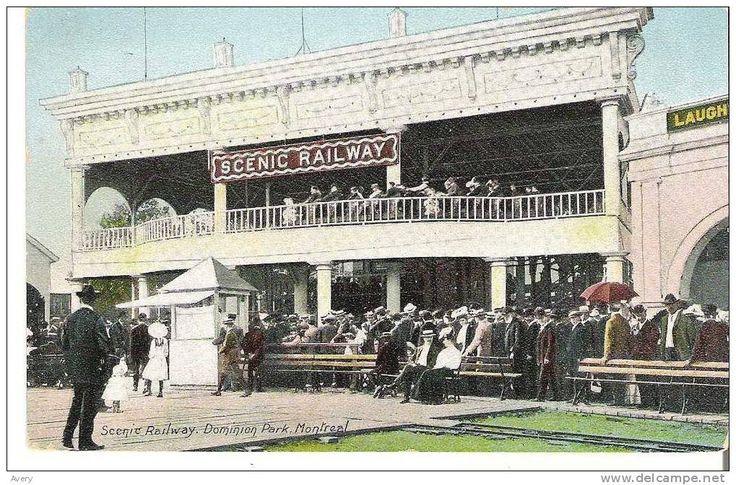 «Scenic Railway», Parc Dominion