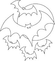 105 Best Coloring Books Pages Images On Pinterest Coloring - coloring pages halloween bats
