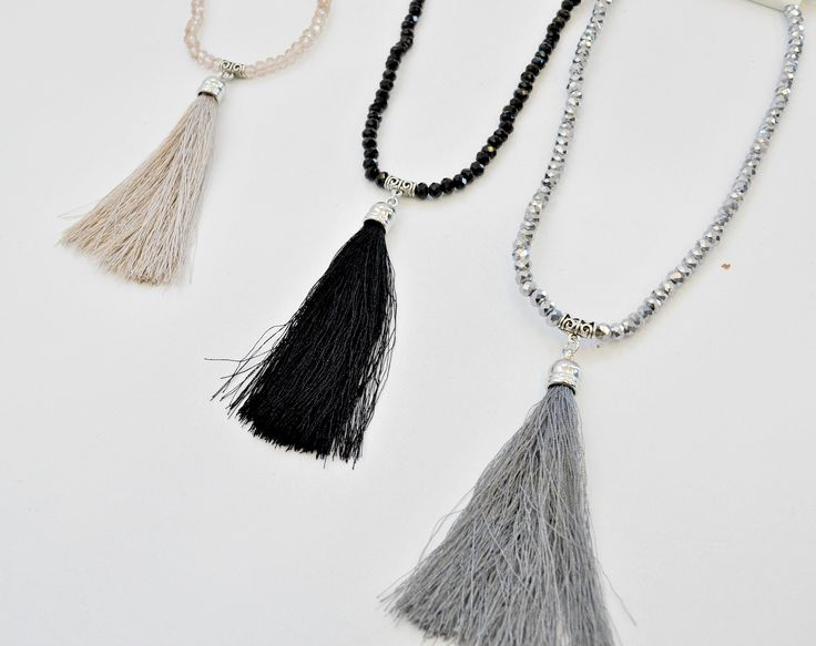 Update your accessories with a #necklace #NicciSummer16 #tassel