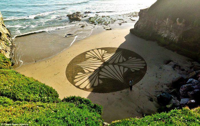 Dopo i cerchi nel grano, compaiono anche i cerchi nella sabbia