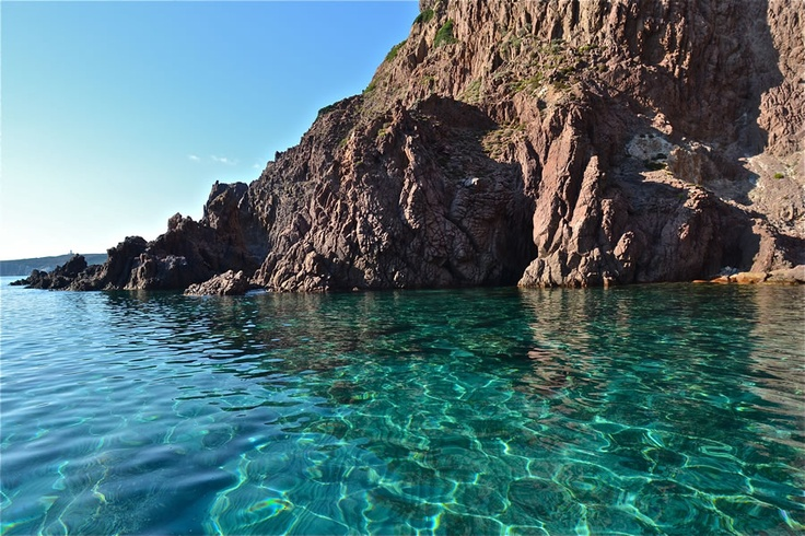 "A picture about ""Poecylia"" resort in Carloforte, an island in the south-western part of Sardinia"