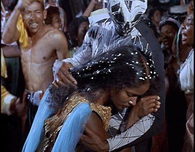 Black Orpheus:  Death catches Eurydice