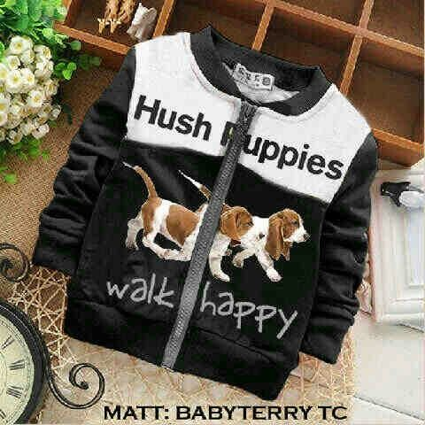 Jaket hush puppies kid black @45rb Bhn babyteri, fit 6-7thn, ready 10 mei, seri 2pcs ¤ Order By : BB : 2951A21E CALL : 081234284739 SMS : 082245025275 WA : 089662165803 ¤ Check Collection ¤ FB : Vanice Cloething Twitter : @VaniceCloething Instagram : Vanice Cloe