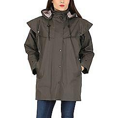 David Barry - Green waterproof coat
