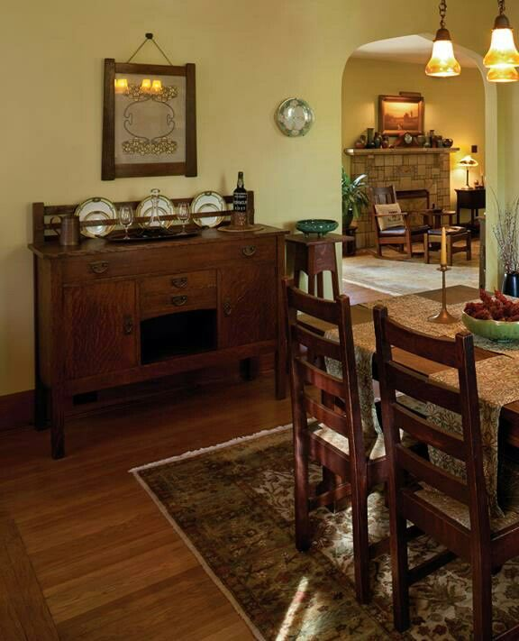 Craftsman Style Dining Room Furniture: Best 25+ Bungalow Dining Room Ideas On Pinterest