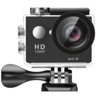 """Buy W8 Ultra HD 2"""" Wi-Fi Sports Action Camera (Black) online at Lazada. Discount prices and promotional sale on all. Free Shipping."""