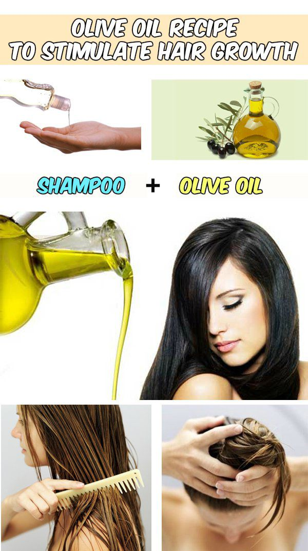 Olive oil recipe to stimulate hair growth