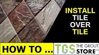 retile shower floor tile - YouTube