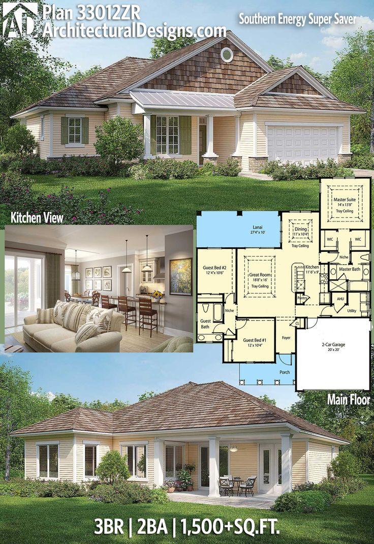 Architectural Designs House Plan 33012ZR has 3