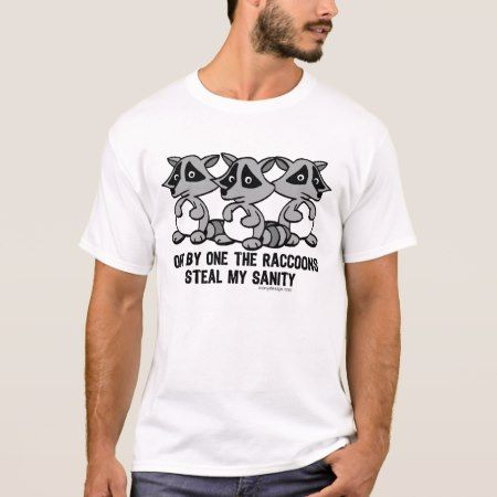 One By One The Raccoons T-Shirt - tap, personalize, buy right now!