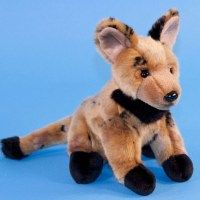 Painted Hunting Dog Soft Toy