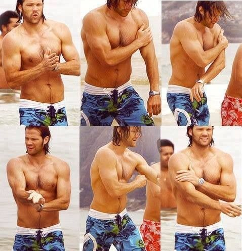 Goodness me. Jarpad can totally hold his own against Jensen ;)