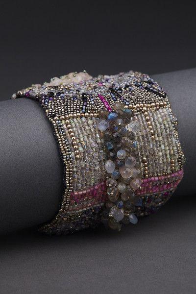 Concentric Couture Cuff – ANDREA GUTIERREZ JEWELRY