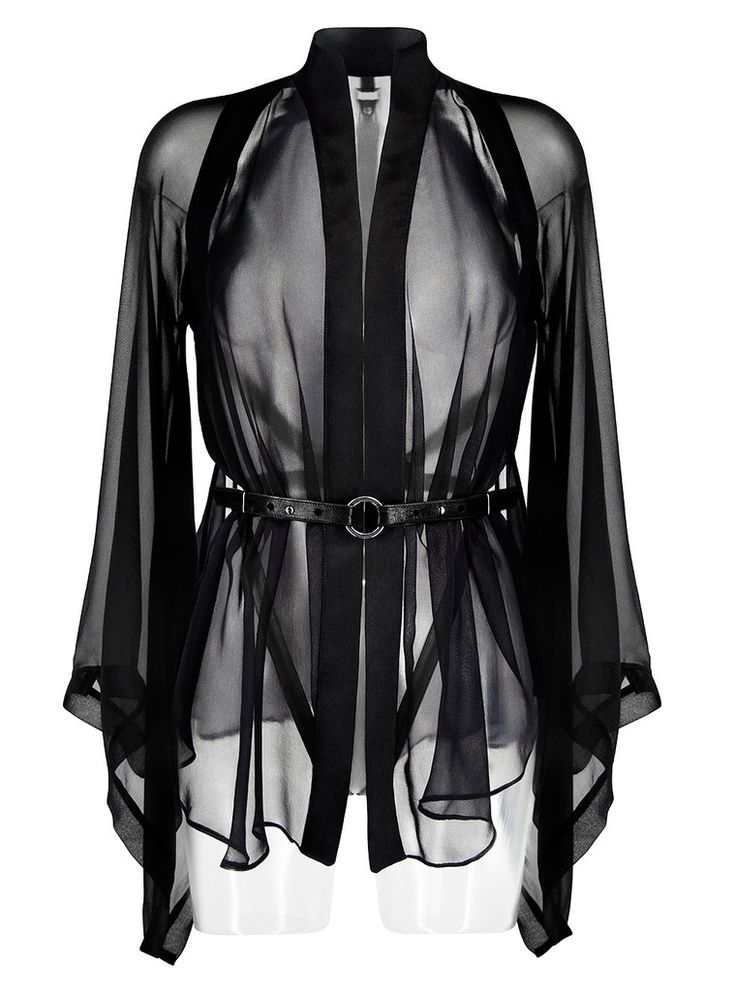 Darkest Star | Luxury Lingerie | Kimono & Detachable Harness – Darkest Star