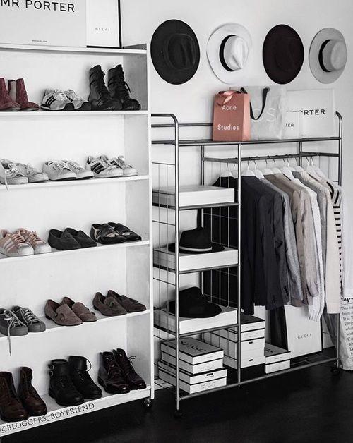 6 Stylish ideas to organize your closet for 2018 (Daily Dream Decor)