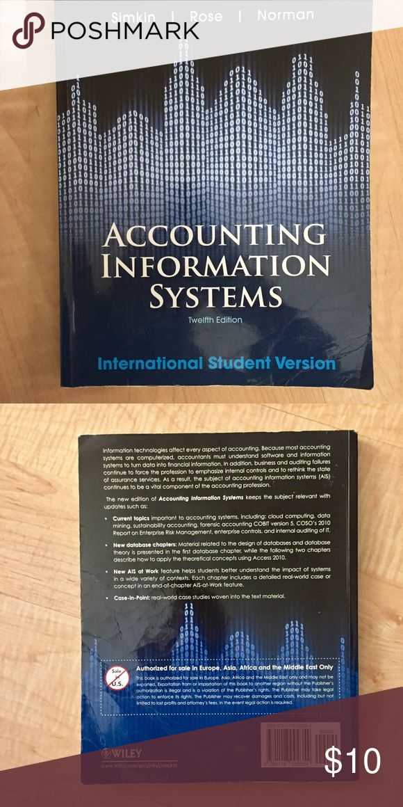 Accounting information systems book . Other
