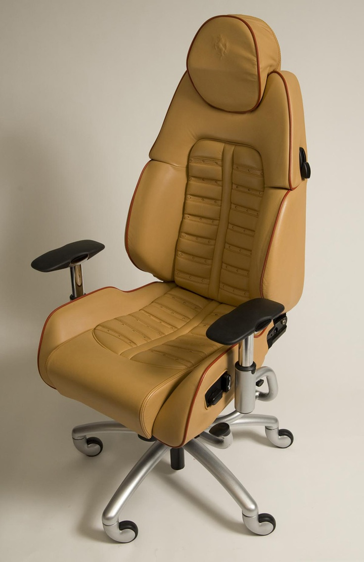 Most comfortable office chair - Racechairs Takes The Seats From Actual Ferraris Lamborghinis Maseratis And Other Exotic Cars Awesome Giftsoffice Chairsblue Printsmost Comfortable