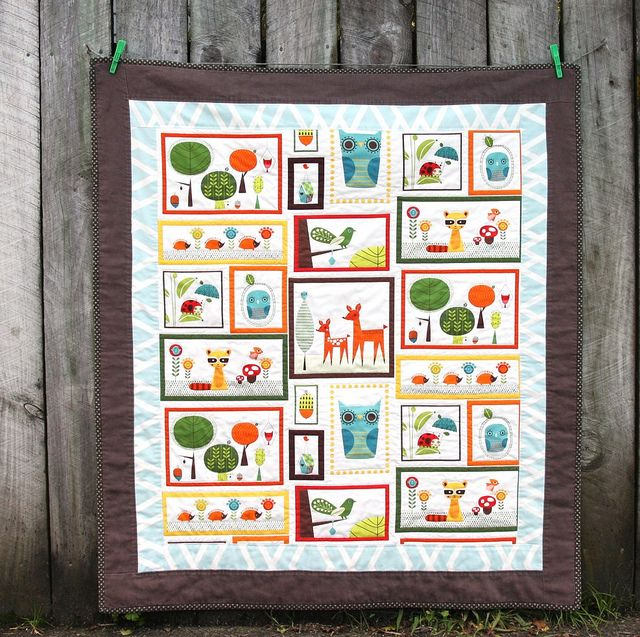 17 best Craft panel quilts images on Pinterest | Quilt patterns ... : fabric panels for quilting baby - Adamdwight.com
