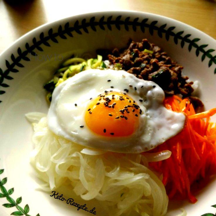 Einfaches Lowcarb Bibimbap – Keto auf Koreanisch!