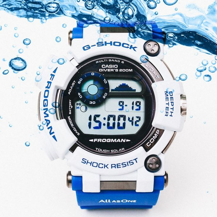 G-Shock GWF-D1000K-7 Frogman Love The Sea & Earth