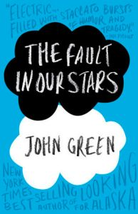 The Fault in Our Stars By John Green Despite the tumor-shrinking medical miracle that has bought her a few years, Hazel has never been anything but terminal, her final chapter inscribed upon diagnosis. But when a gorgeous plot twist named Augustus Waters suddenly appears at Cancer Kid Support Group, Hazel's story is about to be completely rewritten.