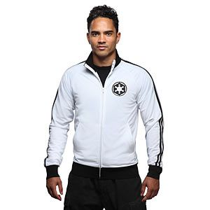 This midweight track jacket features the Imperial Logo embroidered on the front and again large on the back.