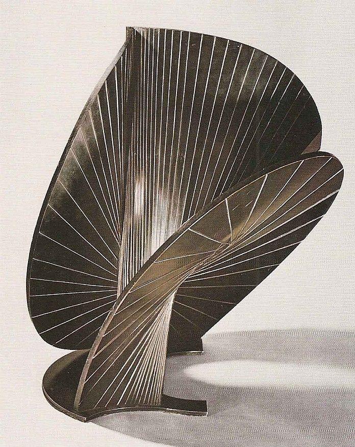 Antoine Pevsner, Constructie, 1938. Biografie Pevsner: http://www.artsalonholland.nl/grote-meesters-kunstgeschiedenis/pevsner