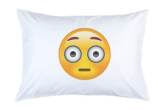 #surprised #surprisedface #surprisedemoji #emoji #emojipillow #pillowcover #pillowcase #pillow #teengift #gift #present #funpresent