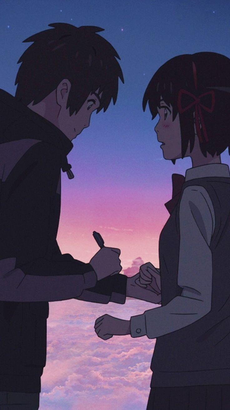 Aesthetic Anime Wallpapers Your Name Anime Wallpaper Hd