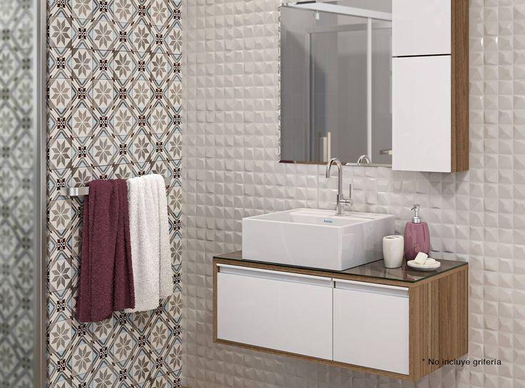 M s de 1000 ideas sobre lavamanos con mueble en pinterest - Lavamanos con mueble ...