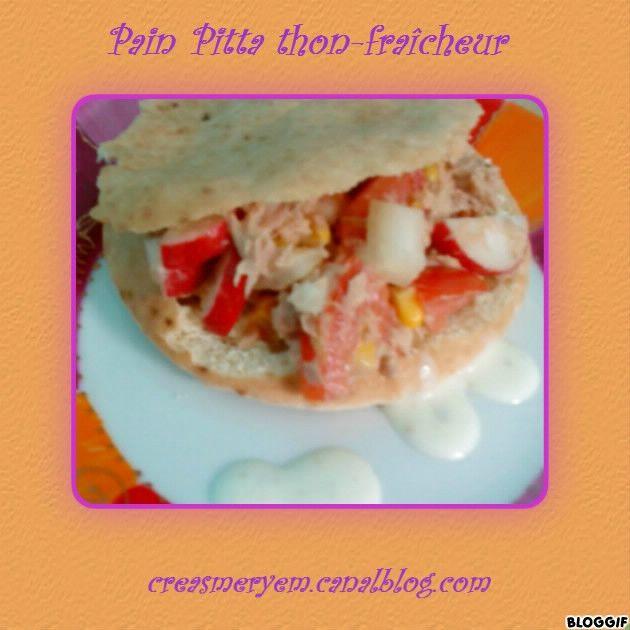 CREAS MERYEM recette RAMADHAN 2013pain pitta thon fraicheur (2)