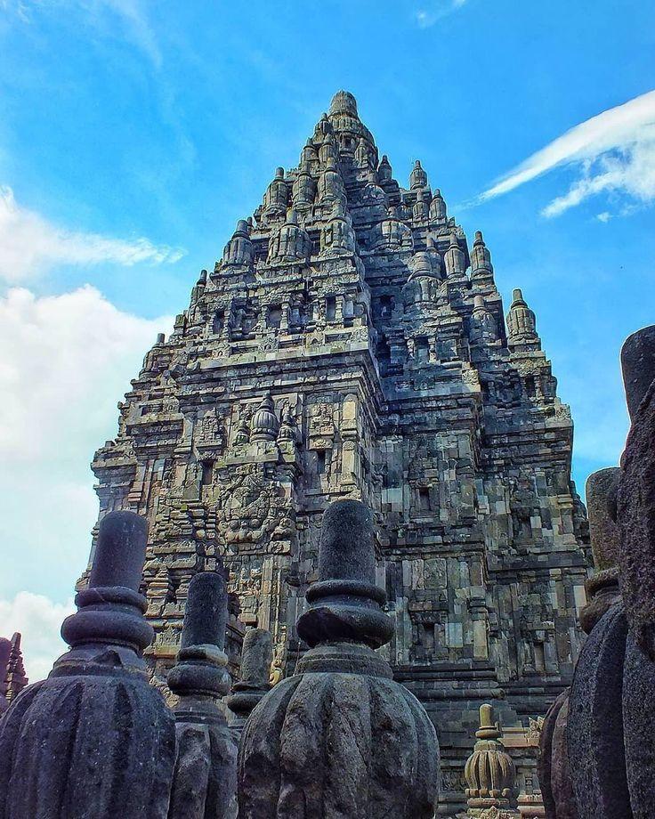 A majestic view of Prambanan Temple, Yogyakarta, #Indonesia  Photo by: IG @fajarsetiyawan45