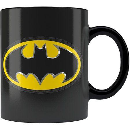 Caneca Personalizada Batman Logo 02 Alça Preta                                                                                                                                                                                 Mais