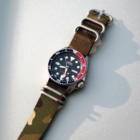 """Seiko """"Pepsi Diver"""" SKX009 – Cheapest NATO Straps"""