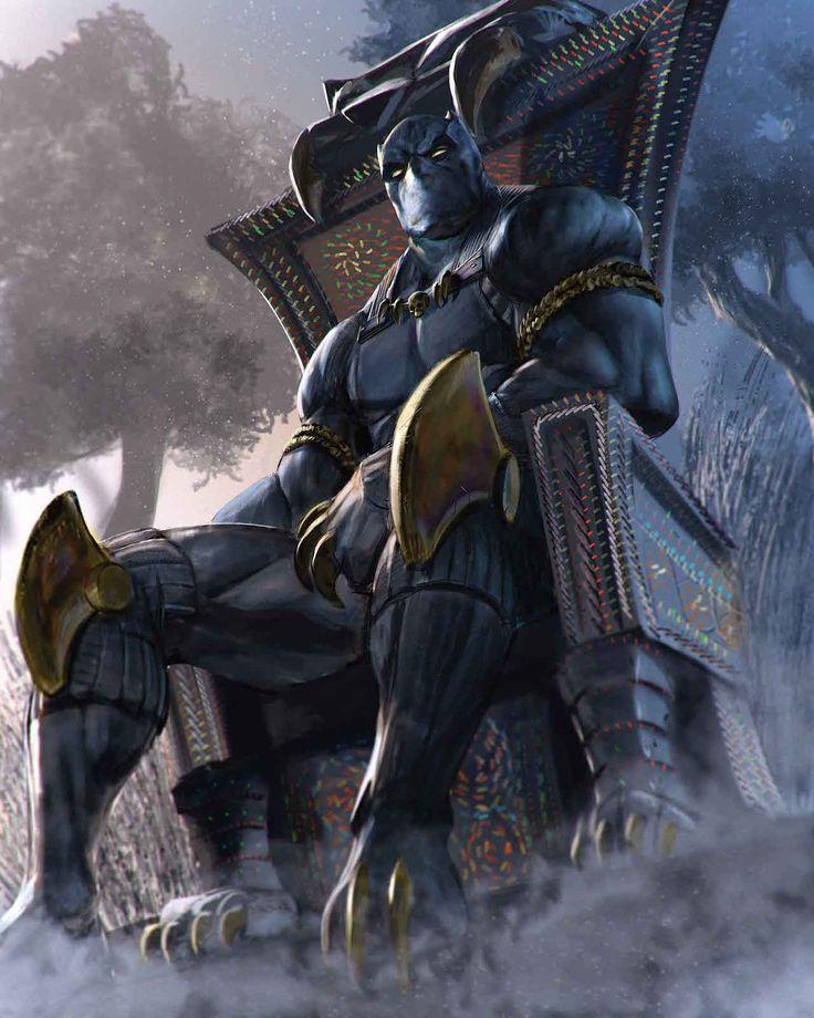 Marvel Comics Black Panther. For similar content follow me @jpsunshine10041