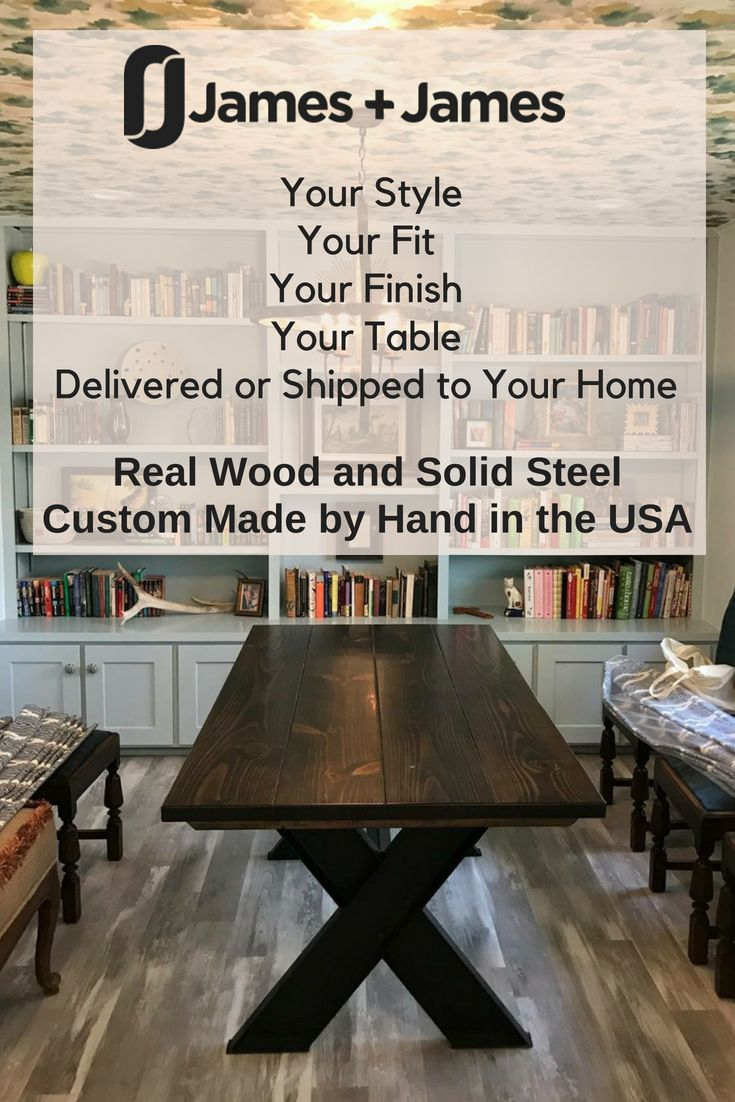 Merveilleux Choose The Right Size Table For Your Family In The Best Style For Your Home  Built By ...