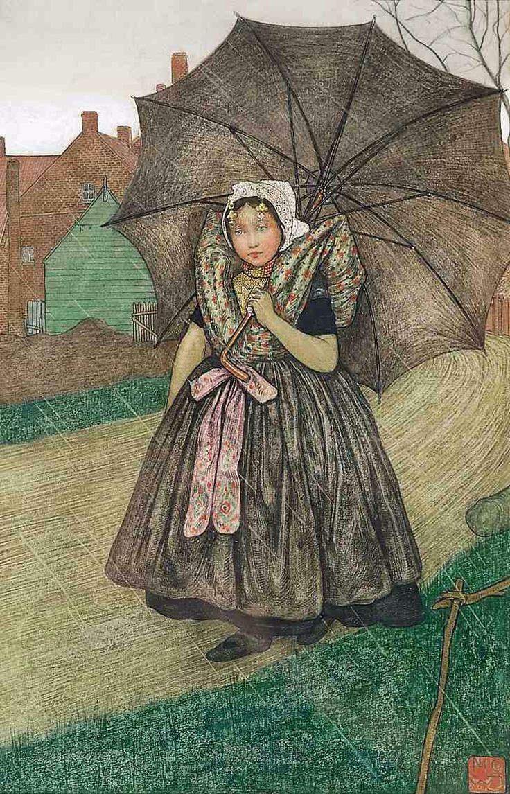 Axel, Thuis in de regen | Nico W. Jungman