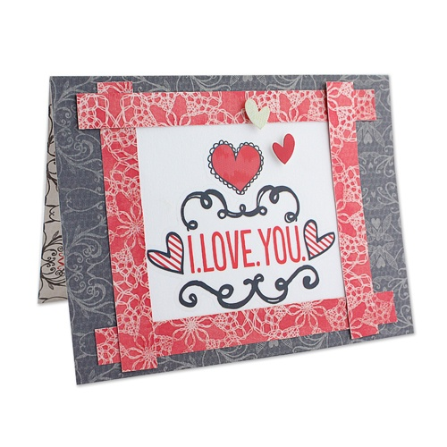 I.Love.You. PS I Love You Card Project Idea from Creative Memories. Products available through February 2013, while supplies last!