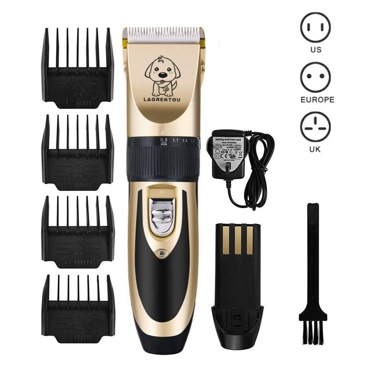 Electric Low Noise Animal Pet Dog Cat Hair Razor Grooming Clipper Trimmer Shaver at Banggood  #pet #dog #cat